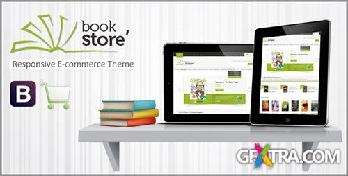 ThemeForest - Book Store Responsive Ecommerce HTML5 Theme - RIP