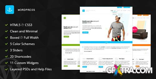 ThemeForest - Anchors v1.0 - Portfolio and Business WordPress Theme