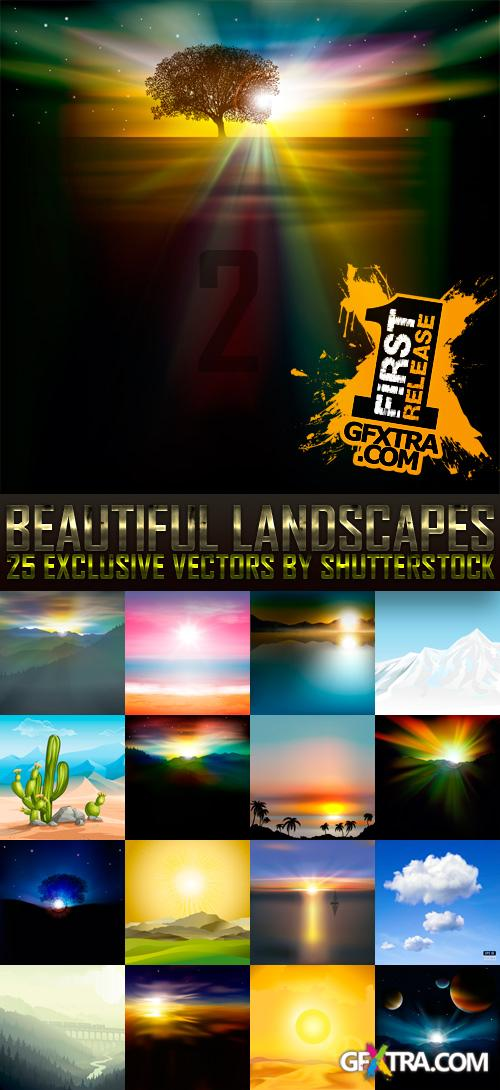 Amazing SS - Beautiful Landscapes 2, 25xEPS