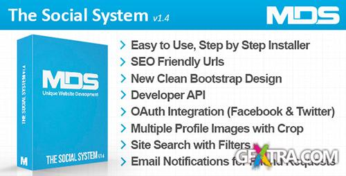 CodeCanyon - The Social System v1.3