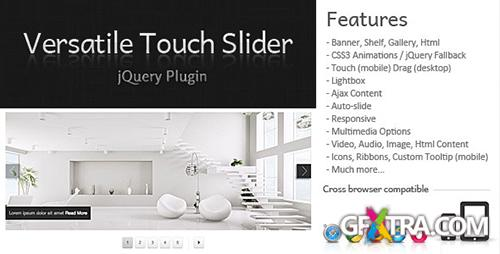 CodeCanyon - Versatile Touch Slider v1.2