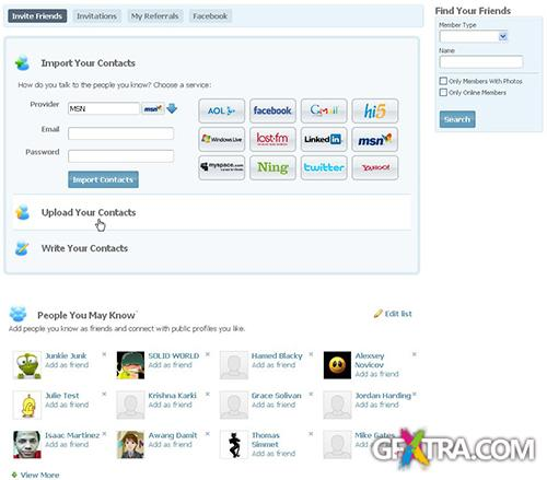 Hire-Experts - Friends Inviter plugin 4.2.3p10 for SocialEngine 4x