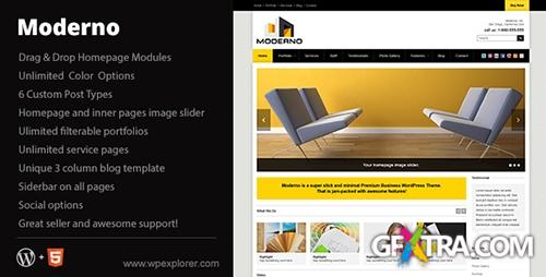 ThemeForest - Moderno v1.3 - Corporate WordPress Theme