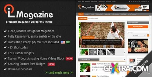 ThemeForest - LioMagazine v1.0 - Premium WordPress News/Magazine