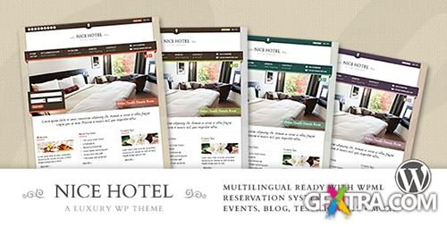 ThemeForest - Nice Hotel v1.7.2 - WordPress Theme