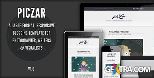 ThemeForest - Piczar WordPress Blog Theme