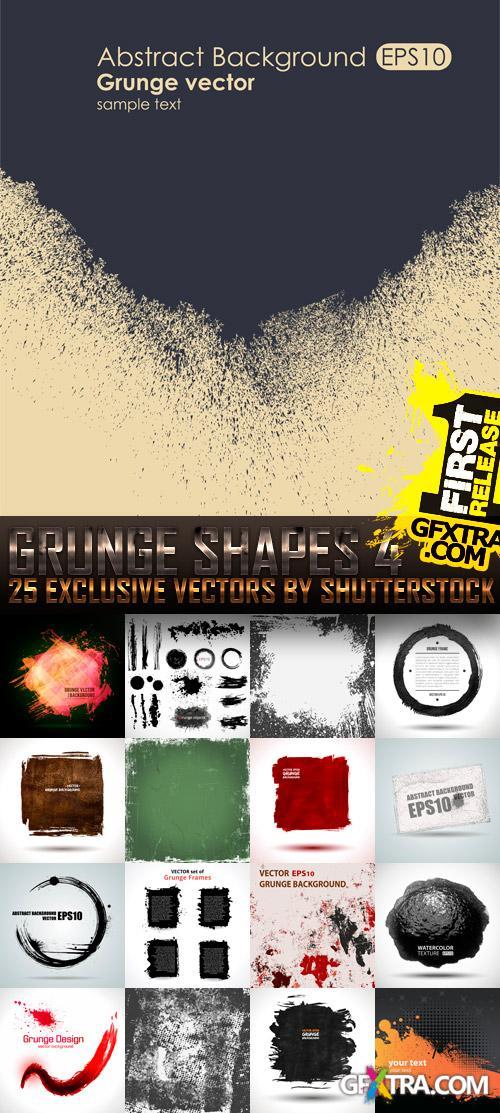 Amazing SS - Grunge Shapes 4, 25xEPS