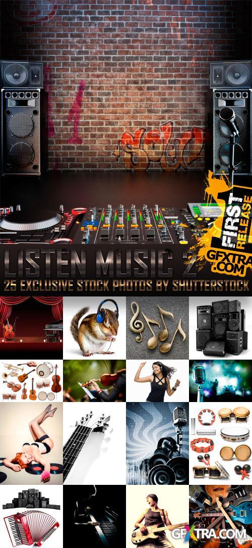 Amazing SS - Listen Music 2, 25xJPGs