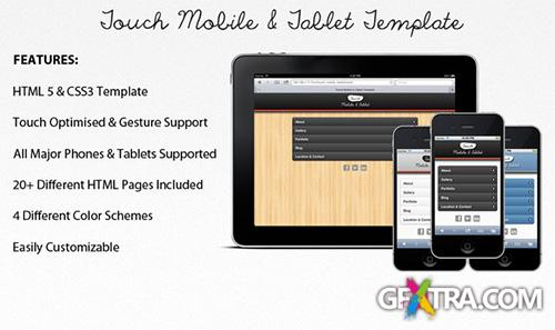 ThemeForest - Touch Mobile & Tablet HTML5 Template - RIP