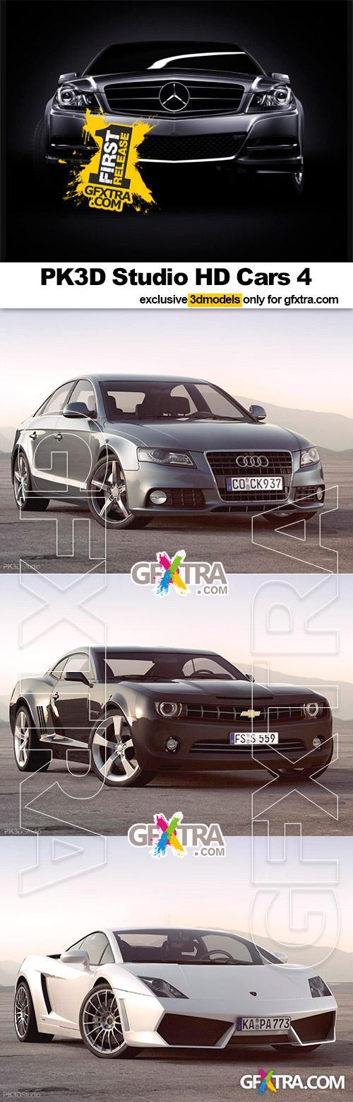 PK3D Studio - HD Cars vol. 4