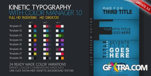 Kinetic Typography - Project for After Effects (Videohive)