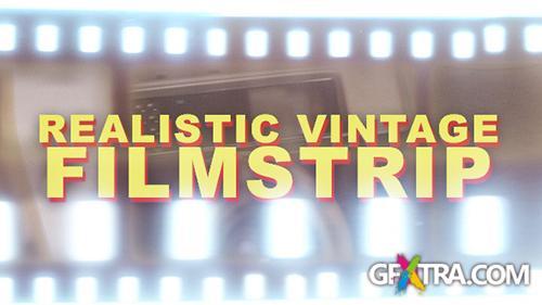 VideoHive Realistic Vintage Filmstrip - Horizontal (Motion Graphics)