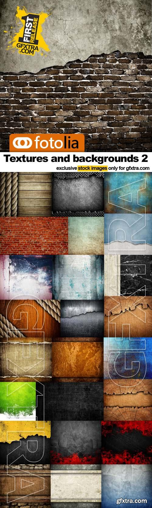 Textures and backgrounds 2 - 25x UHQ JPEGs