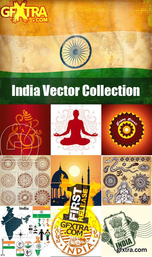 India Vector Collection - 25 Files (Fotolia)
