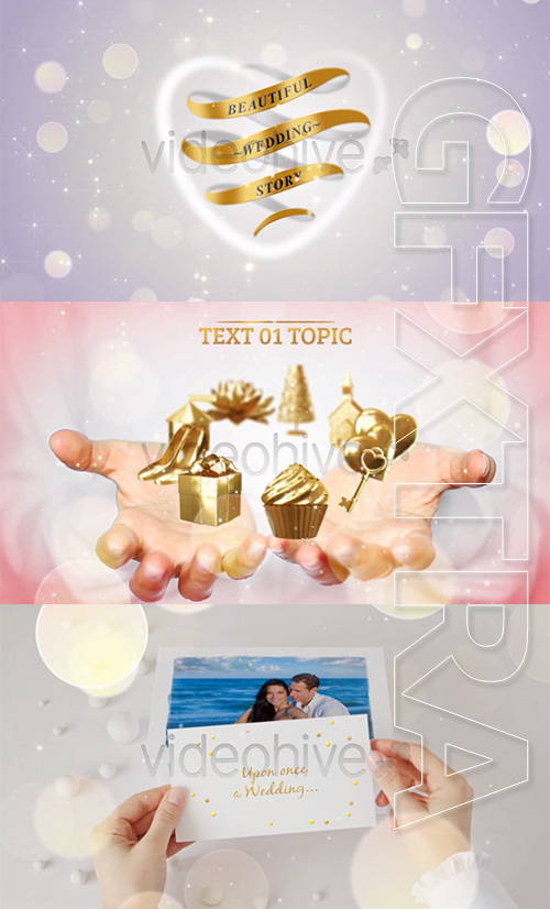 Videohive Beautiful Wedding Story Collection 4468407 HD