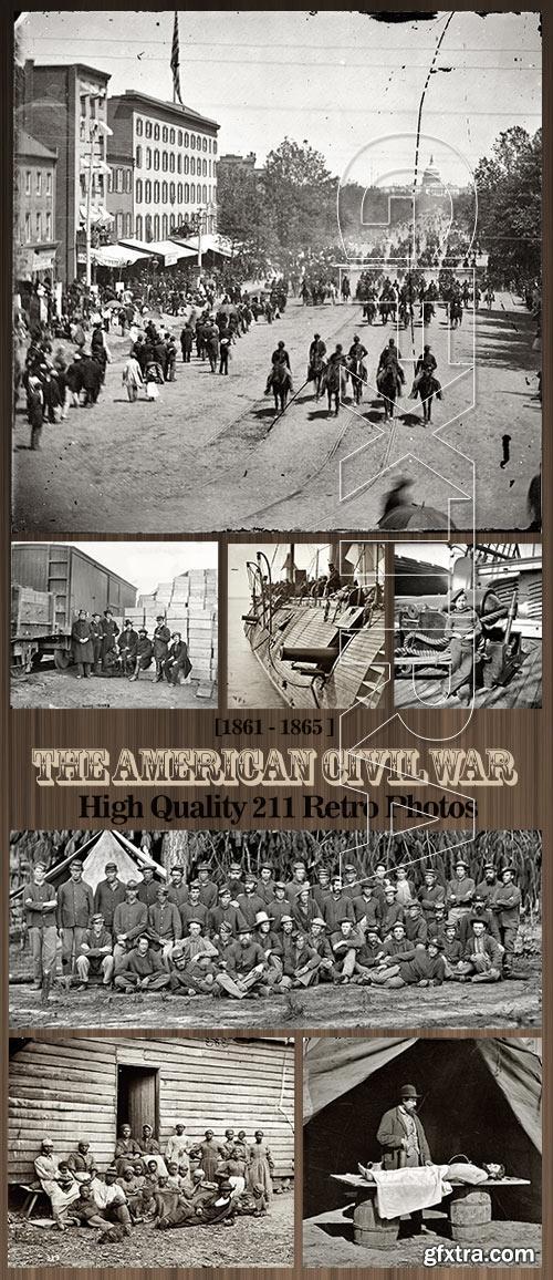 The American Civil War Photos 1861-1865, 211xJPGs