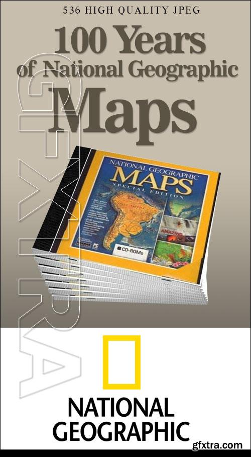100 years Of National Geographic Maps (1888-1999)