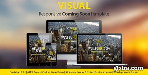 ThemeForest - Visual - Responsive Coming Soon Page - RIP