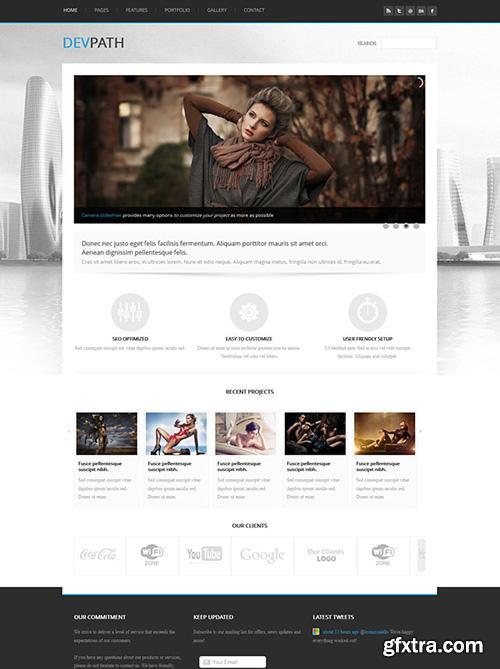 DreamTemplate - Devpath - Responsive Website Template