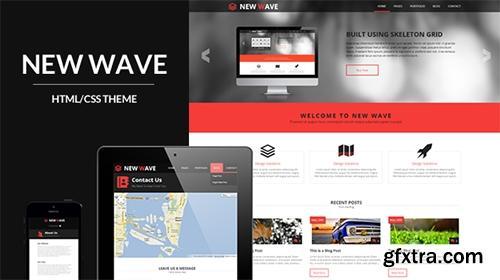 Mojo-Themes - New Wave - Responsive Business/Portfolio HTML Theme - RIP