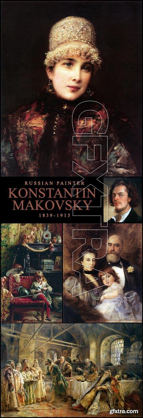 Konstantin Makovsky, Russian Painter (1839-1915)
