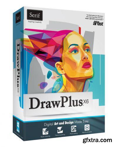 Serif DrawPlus X6 13.0.1.21 (x86/x64) + Portable