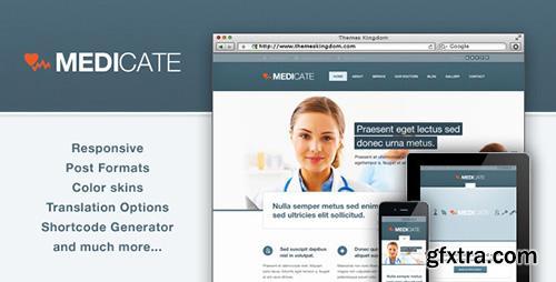 ThemeForest - Medicate v1.6.1 - Responsive Medical and Health Theme