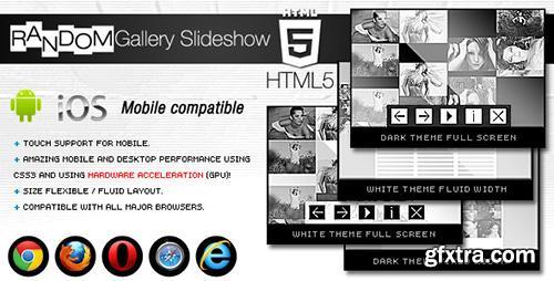 CodeCanyon - HTML5 Random Gallery Slideshow