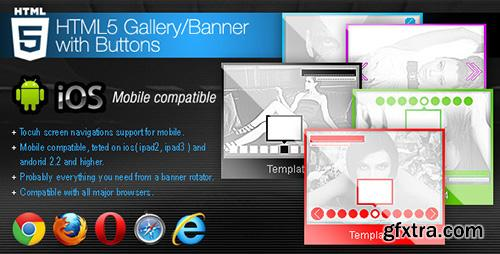 CodeCanyon - HTML5 Gallery / Banner with Buttons