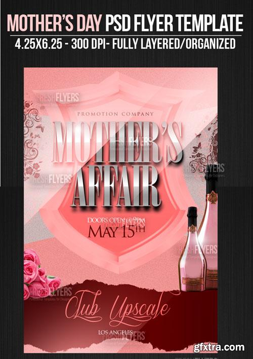 Mothers Day Flyer/Poster PSD Template