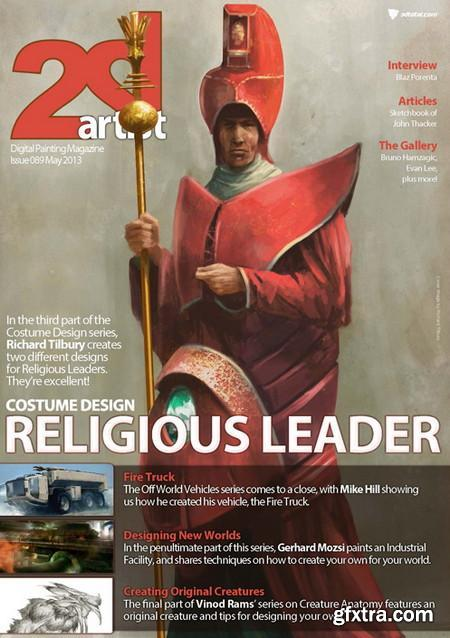 2DArtist Issue 089 - May 2013