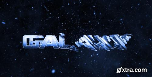 VideoHive - Galaxy Intro - Glass Logo Reveal