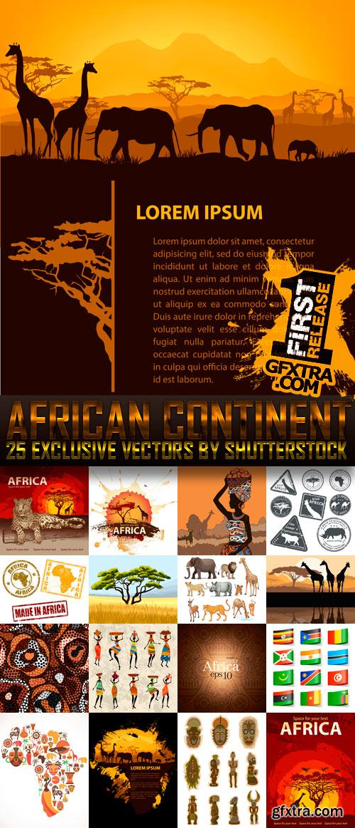Amazing SS - African Continent, 25xEPS