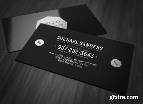 Clean Minimal Business Card