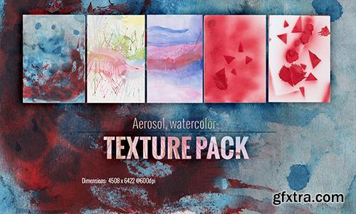 Watercolor Aerosol Textures