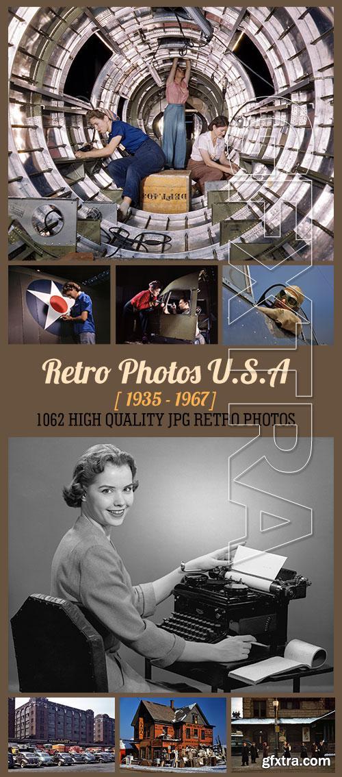UHQ Retro Photos of U.S.A. (1935-1967) 1062xJPGs