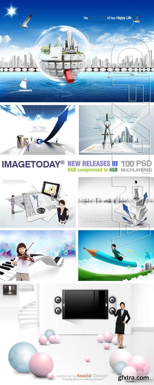ImageToday - New Release III, 100xPSD