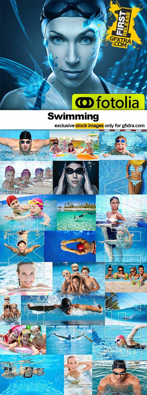 Swimming - 25x JPEGs