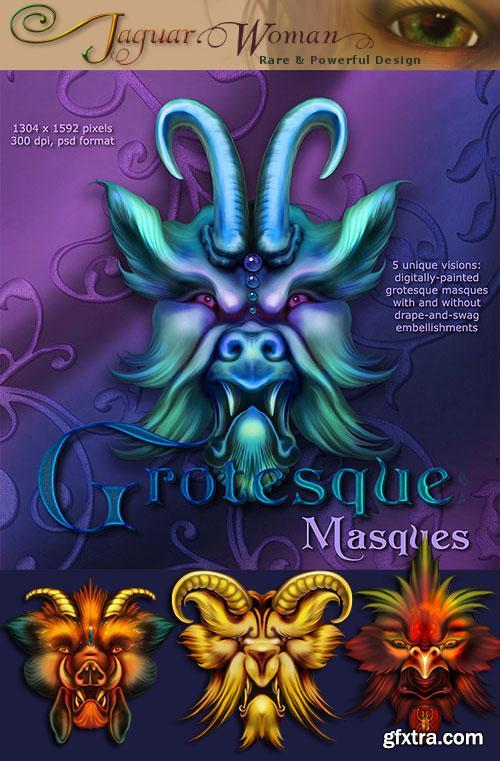 JaguarWoman's Grotesque Masques