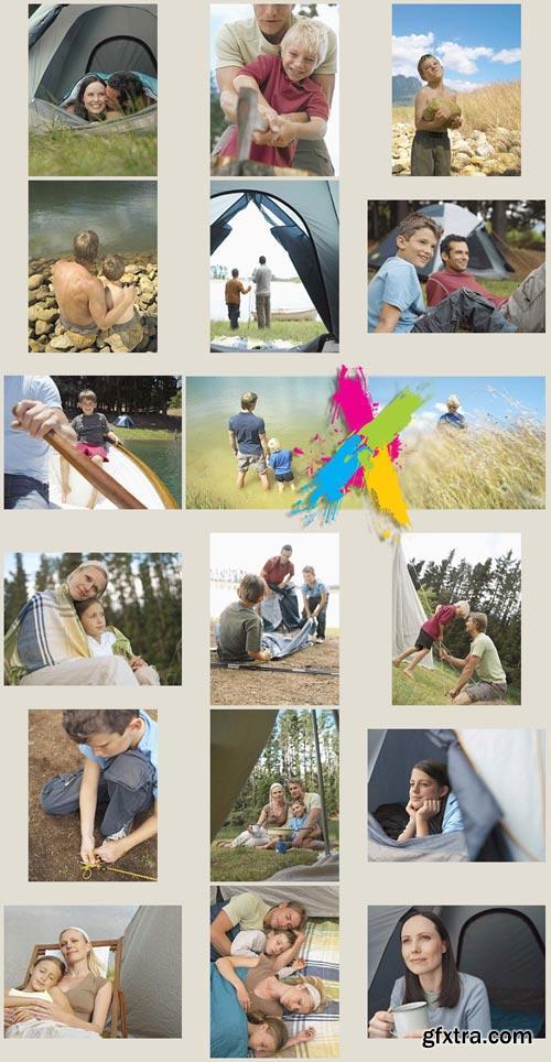Veer Fancy FAN9000320 Camping With the Kids