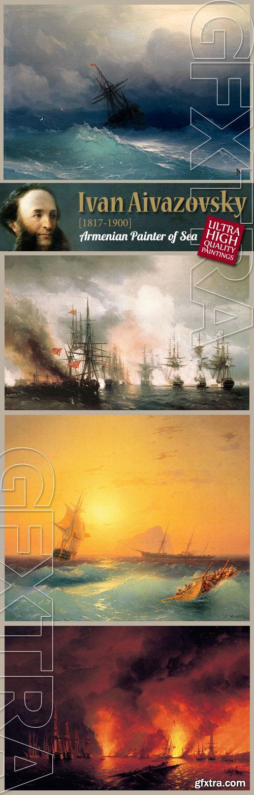 Ivan Aivazovsky, Armenian Painter of Sea 192xJPGs