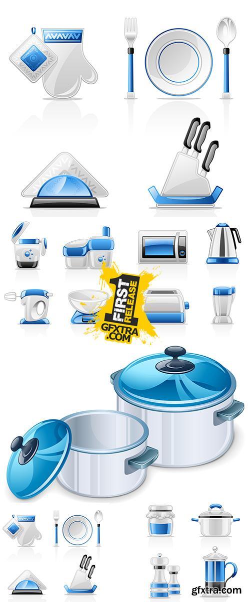 Stock: Kitchen appliances