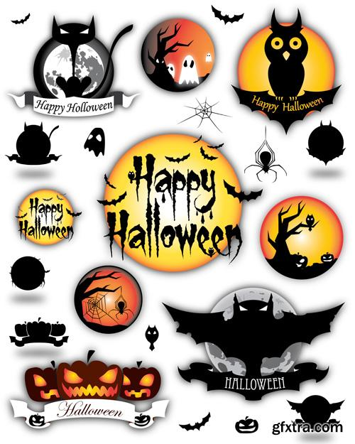 Halloween Collection - 25 Vector