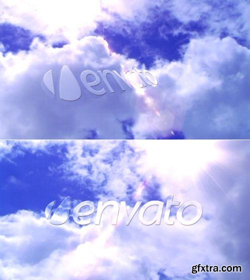 Videohive 3D Logo In The Sky Reveal