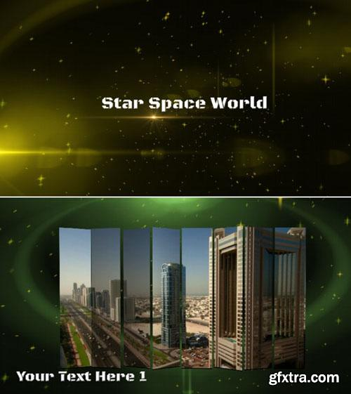 After Effects Project Star Space World