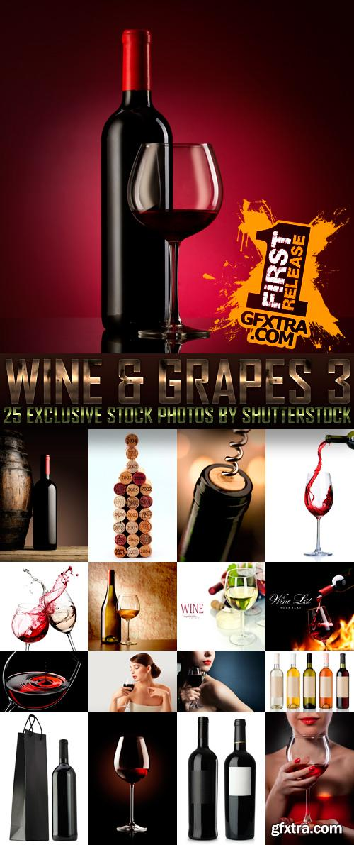 Amazing SS - Wine & Grapes 3, 25xJPGs