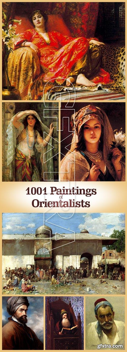 1001 Paintings of Orientalists 1001xJPGs