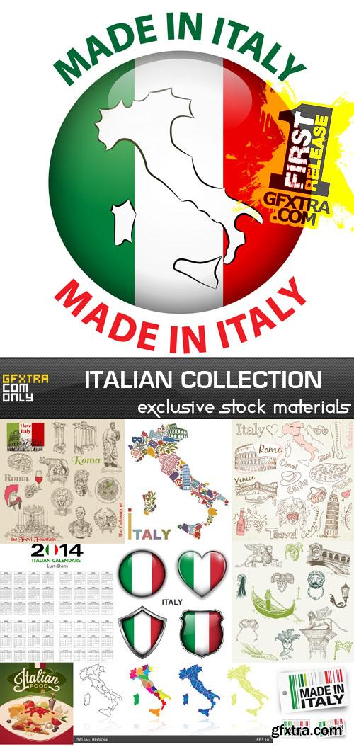 Italian collection 25xeps vector photoshop psdafter effects italian collection 25 eps ai gumiabroncs Choice Image