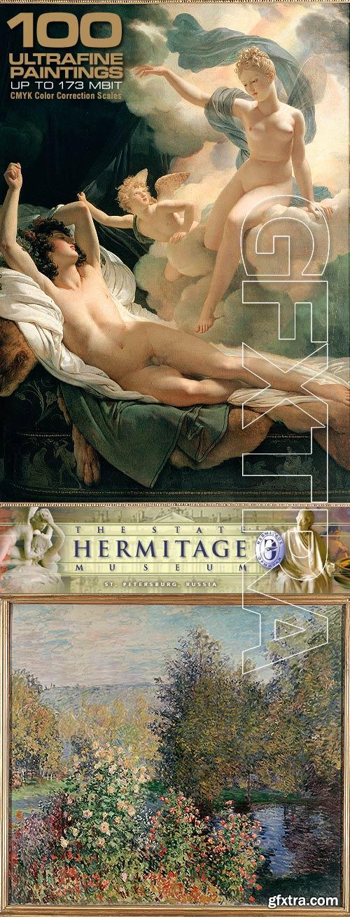 Museum Hermitage - 100 Great Paintings ULTRAFINE & COLOR SCALAS!