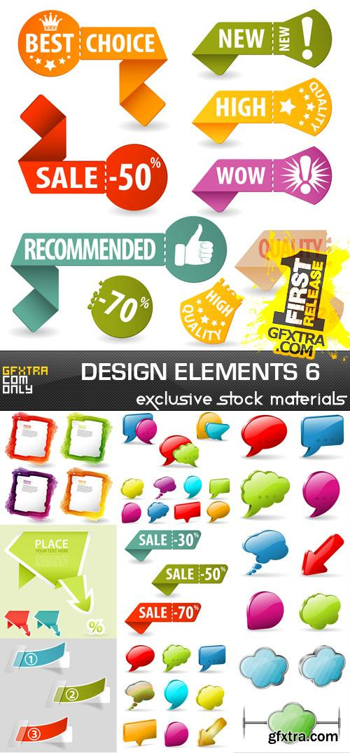 Collection of vector design elements vol.6